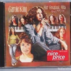 CDs de Música: CD. CD CAROLE KING. HER GREATEST HITS. Lote 180857635
