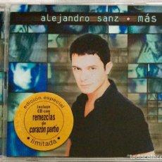 CDs de Música: ALEJANDRO SANZ , MÁS (1997) EDICIÓN ESPECIAL LIMITADA 2 CDS RARO. Lote 180867568