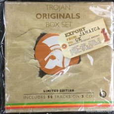 CDs de Música: TROJAN ORIGINALS BOX SET-LIMITED EDITION. Lote 180892616