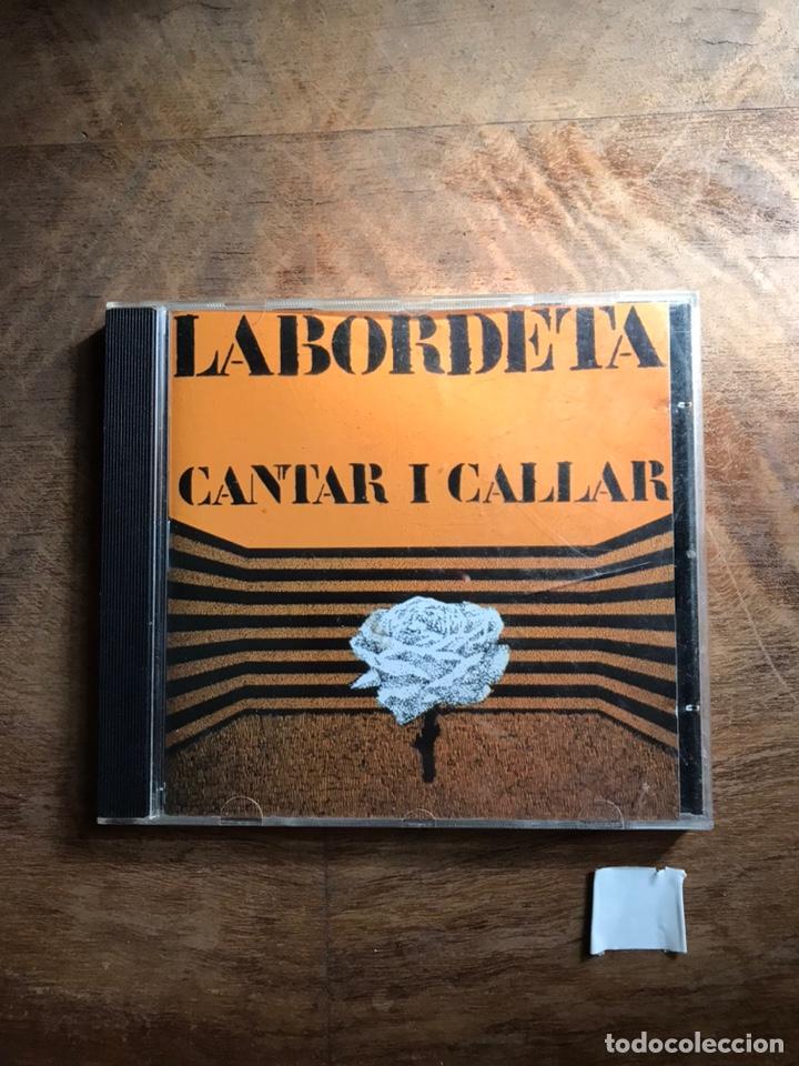 LABORDETA CANTAR Y CALLAR (Música - CD's Otros Estilos)