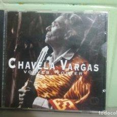 CDs de Música: CHAVELA VARGAS (VOLVER, VOLVER) CD 1996 PEPETO. Lote 180905197