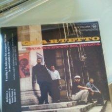 CDs de Música: IL QUARTETTO DI LUCCA – QUARTETTO (LA BANDA DE CHET BAKER EN SU ETAPA ITALIANA). Lote 180909785