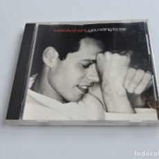 CDs de Música: MARC ANTHONY - YOU SANG TO ME SINGLE CD. Lote 180920025