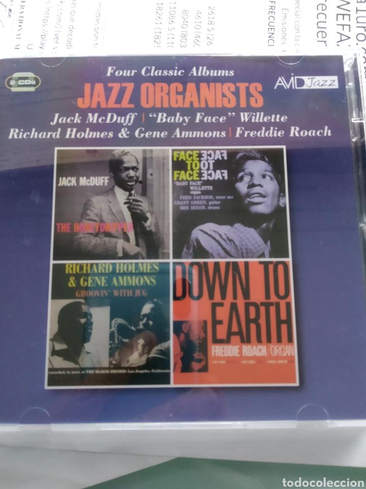 FOUR CLASSIC ALBUM - JAZZ ORGANISTS (DOBLE CD) (Música - CD's Jazz, Blues, Soul y Gospel)