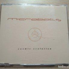 CDs de Música: MICROBOTS - COSMIC EVOLUTION / CD MAXI TEMAZOS RUTA DESTROY VALENCIA. Lote 195358703