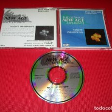 CDs de Música: THE ULTIMATE NEW AGE EXPERIENCE ( NIGHT WHISPERS - VOL. 2 ) -CD - C-5610-2 - PURE NEW AGE ENJOYMENT. Lote 180952558