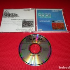 CDs de Música: THE ULTIMATE NEW AGE EXPERIENCE ( INTERLUDES - VOL. 4 ) -CD - C-5610-4 - PURE NEW AGE ENJOYMENT. Lote 180952916