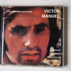 CDs de Musique: VÍCTOR MANUEL(LOS GRANDES ÉXITOS) . Lote 180957112