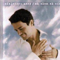 CDs de Música: ALEJANDRO SANZ EL ALMA AL AIRE . Lote 180970758