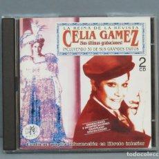 CDs de Musique: 2 CD. CELIA GAMEZ. SUS ULTIMAS GRABACIONES. Lote 180976477