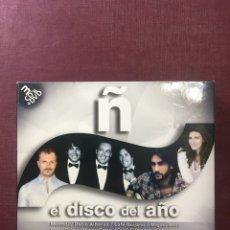 CDs de Música: Ñ EL DISCO DEL AÑO(2012, 3CD'S + DVD).. Lote 181083007