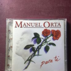 CDs de Música: MANUEL ORTA: PARA TI.. Lote 181084210