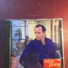CDs de Música: JOSÉ MANUEL SOTO: QUIÉREME.. Lote 181084482