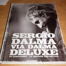 CDs de Música: SERGIO DALMA 2 CD+BOOK BOXSET 2011-EROS RAMAZZOTTI (COMPRA MINIMA 15 EUR). Lote 181093077