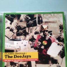 CDs de Música: VARIOUS – CLASSIC REGGAE - THE DEEJAYS. Lote 181101181