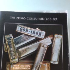 CDs de Música: VARIOUS ‎– GOB-IRON: THE BLUES HARMONICA ANTHOLOGY (DOBLE CD). Lote 181101283