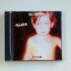 CDs de Música: AINKE - GAZTE MUSIKA, GARA, 2002. EUSKAL HERRIA.. Lote 181132343