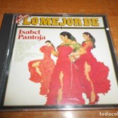CDs de Música: LO MEJOR DE ISABEL PANTOJA CD ALBUM DEL AÑO 1990 RCA CONTIENE 14 TEMAS MUY RARO NO CODIGO BARRAS. Lote 181134052
