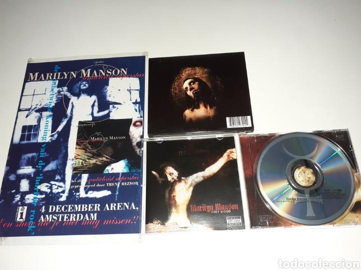 MARILYN MANSON HOLLYWOOD, POSTER ANTICHRIST (Música - CD's Heavy Metal)