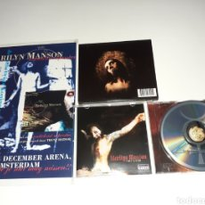 CDs de Música: MARILYN MANSON HOLLYWOOD, POSTER ANTICHRIST. Lote 181159128
