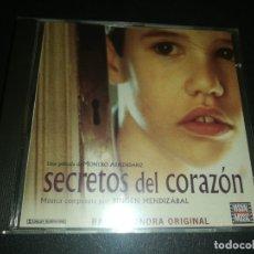 CDs de Música: B. S. O. SECRETOS DEL CORAZÓN., BINGEN MENDIZABAL. Lote 181160061