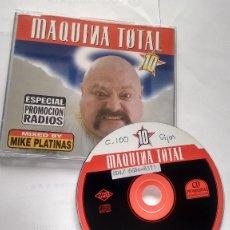 CDs de Musique: CD-SINGLE -PROMOCION- MAQUINA TOTAL 10. Lote 181163132