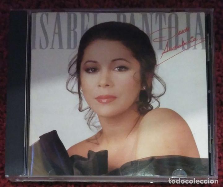 ISABEL PANTOJA (DESDE ANDALUCIA) CD 1988 1ª EDICIÓN (Música - CD's Flamenco, Canción española y Cuplé)
