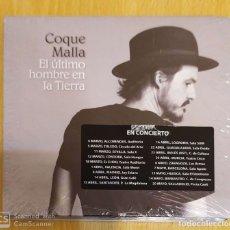 CDs de Música: COQUE MALLA (EL ULTIMO HOMBRE EN LA TIERRA) CD 2016 * PRECINTADO - LOS RONALDOS. Lote 181197641