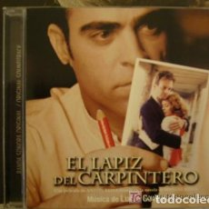 CDs de Música: EL LAPIZ DEL CARPINTERO - BSO - LUCIO GODOY. Lote 181209238