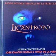 CDs de Música: LICANTROPO- B.S.O. - JOSÉ IGNNACIO CUENCA & TONY DE LA PEÑA, CD PRECINTADO!!. Lote 181209801