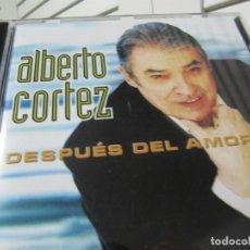 CDs de Música: CD DE ALBERTO CORTEZ - DESPUÉS DEL AMOR. DISCOS PITOKES, 2002. Lote 181229793