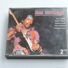 CDs de Música: JIMI HENDRIX  JIMI HENDRIX 2XCD. Lote 181322311