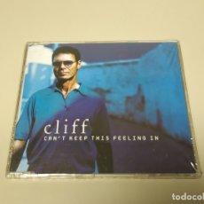 CDs de Música: JJ10- CLIFF CANT KEEP THIS FEELING IN CD NUEVO PRECINTADO LIQUIDACION!!! . Lote 181323467