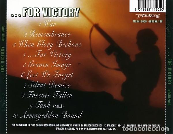 CDs de Música: BOLT THROWER - ...FOR VICTORY - Foto 2 - 181350356