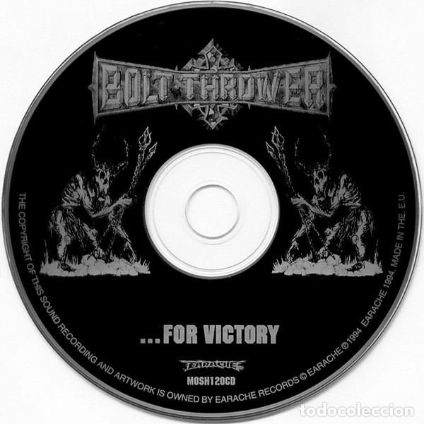 CDs de Música: BOLT THROWER - ...FOR VICTORY - Foto 3 - 181350356