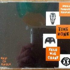 CDs de Música: AFRIKA BAMBAATAA PRESENTS TIME ZONE: ZULU WAR CHANT [UK 1993] MX-CD. Lote 181363800