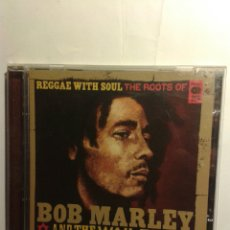 CDs de Música: REGGAE WITH SOUL THE ROOTS OF BOB MARLEY AND THE WAILERS - CD. Lote 181419330