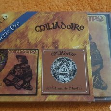 CDs de Música: MILLADOIRO 2 CD BERRO SECO + GALICIA DE MAELOC. Lote 181422477