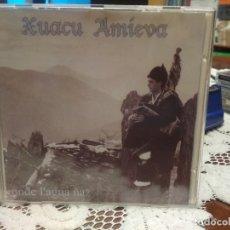 CDs de Música: XUACU AMIEVA ONDE L,AGUA ÑAZ CD ASTURIAS. Lote 181437030