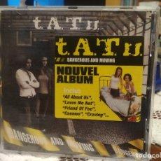 CDs de Música: TATU - DANGEROUS AND MOVING NOUVEL CD ALBUM 2005. Lote 181437485