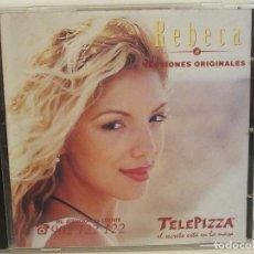 CDs de Música: REBECA - VERSIONES ORIGINALES - PROMO - 5 TEMAS - CD - 1998 - NM+/NM+. Lote 181450076
