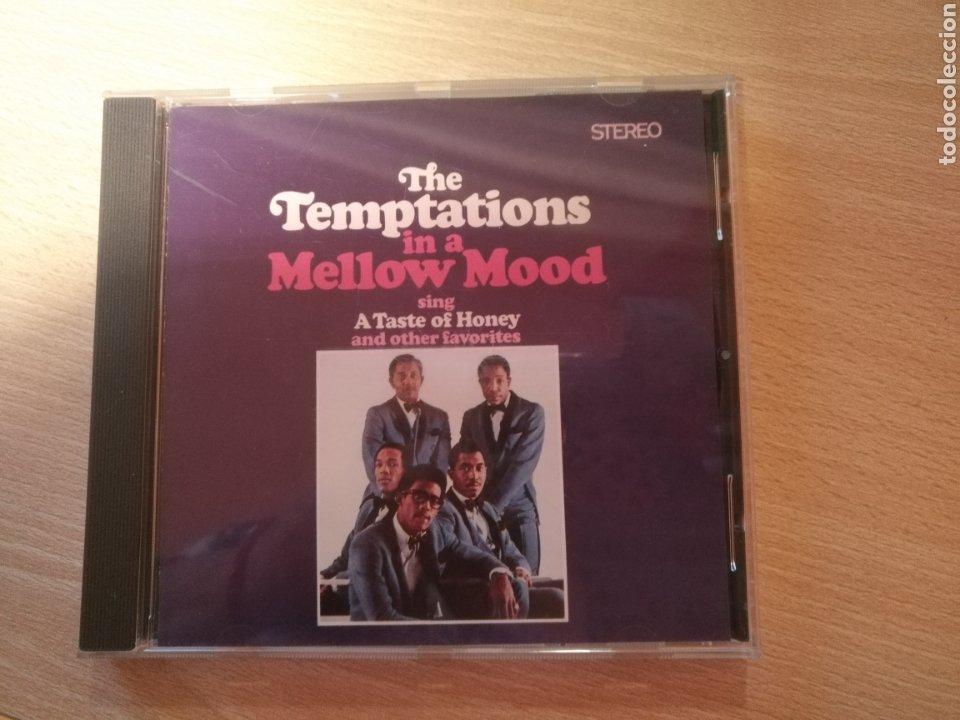 CD THE TEMPTATIONS IN A MELLOW MOOD- MOTOWN 1998 (Música - CD's Jazz, Blues, Soul y Gospel)