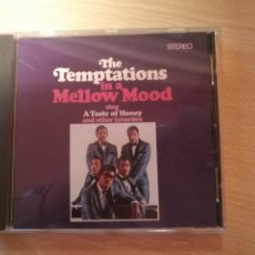 CDs de Música: CD THE TEMPTATIONS IN A MELLOW MOOD- MOTOWN 1998. Lote 181507817