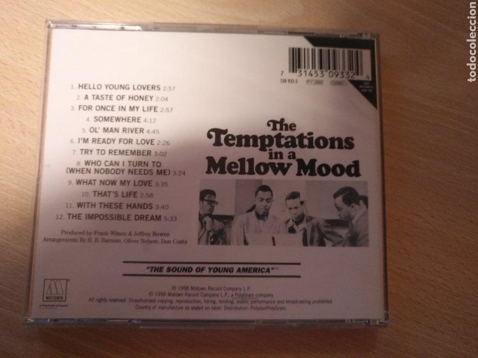 CDs de Música: CD THE TEMPTATIONS IN A MELLOW MOOD- MOTOWN 1998 - Foto 2 - 181507817