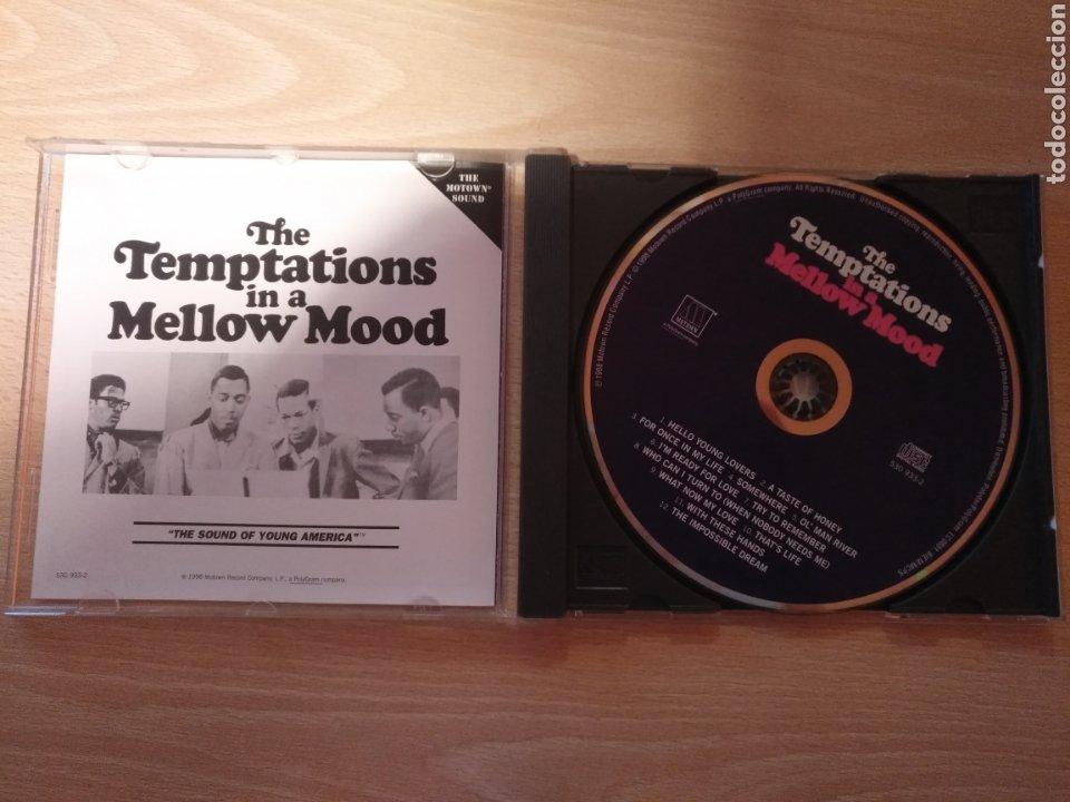 CDs de Música: CD THE TEMPTATIONS IN A MELLOW MOOD- MOTOWN 1998 - Foto 3 - 181507817