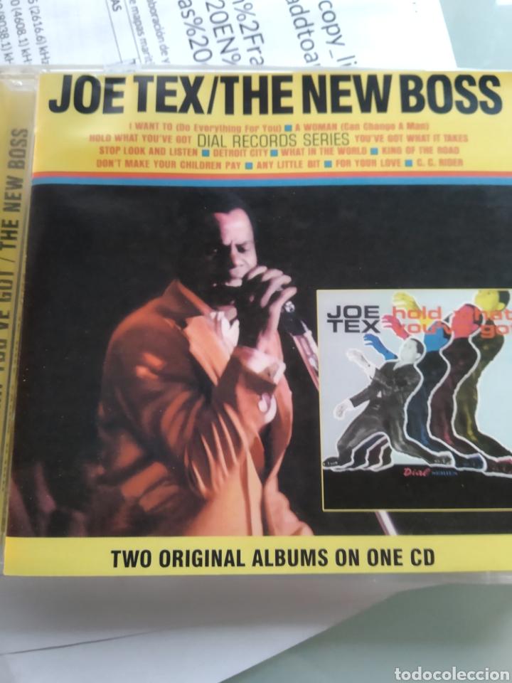 JOE TEX – HOLD WHAT YOU'VE GOT / THE NEW BOSS (Música - CD's Jazz, Blues, Soul y Gospel)
