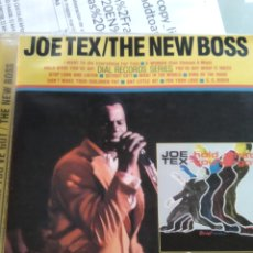 CDs de Música: JOE TEX – HOLD WHAT YOU'VE GOT / THE NEW BOSS. Lote 181541550