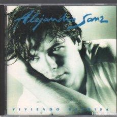 CDs de Música: ALEJANDRO SANZ - VIVIENDO DEPRISA - CD ALBUM DE 1991 RF-3237 , PERFECTO ESTADO. Lote 181548537