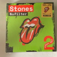 CDs de Música: THE ROLLING STONES - NO FILTER 2 EUROPE 2018 - 14 CD + 1 DVD, ED. LIMITADA. Lote 181551903