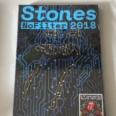 CDs de Música: THE ROLLING STONES - NO FILTER 2018 - COVENTRY & MANCHESTER '18, 4 CD, ED. LIMITADA. Lote 181552680